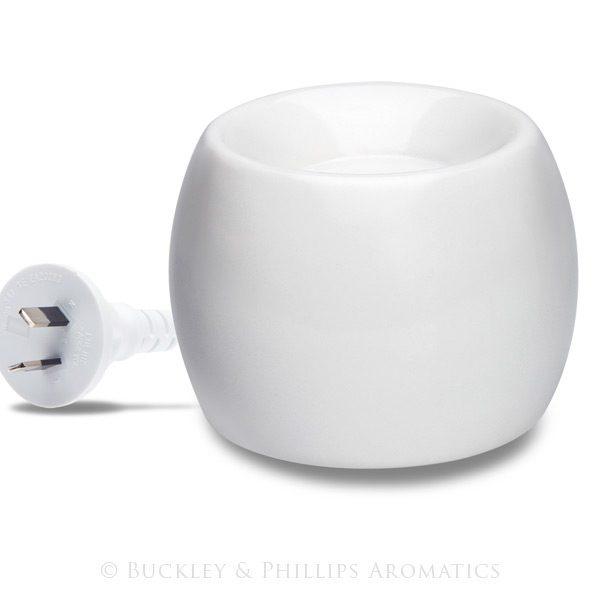 Electric Oil Vapouriser - White
