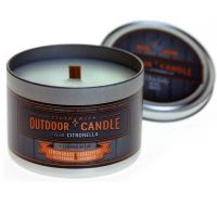 Gumleaf Outdoor Tin Candle - Citronella