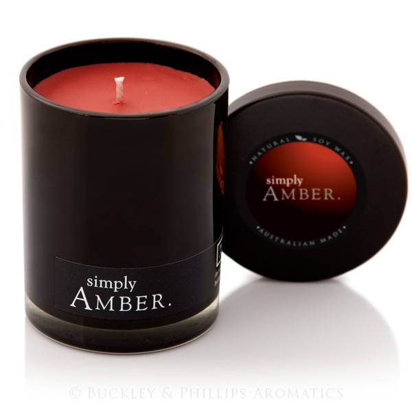 Candle - Simply Soy Jar - Amber