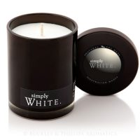 Candle - Simply Soy Jar - White