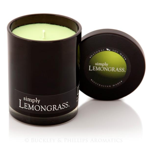 Candle - Simply Soy Jar - Lemongrass