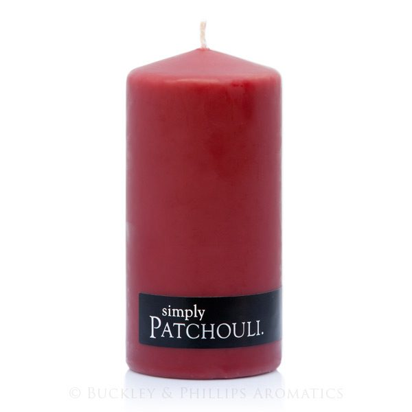 Candle - Simply Pillar - Patchouli