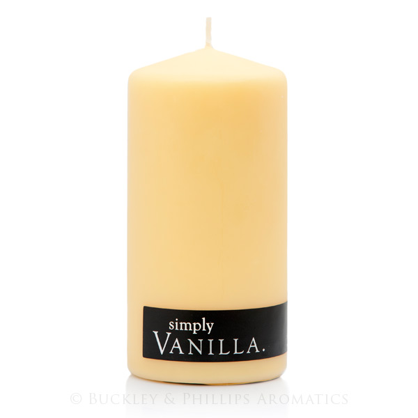 Candle - Simply Pillar - Vanilla