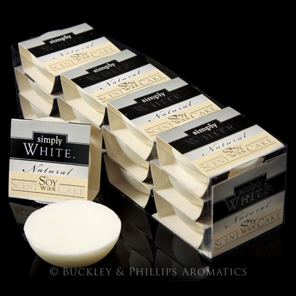 Soy Scent Cakes - Simply White Bulk Tray
