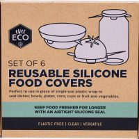 Ever Eco Reusable Silicone Food Covers Set of 6