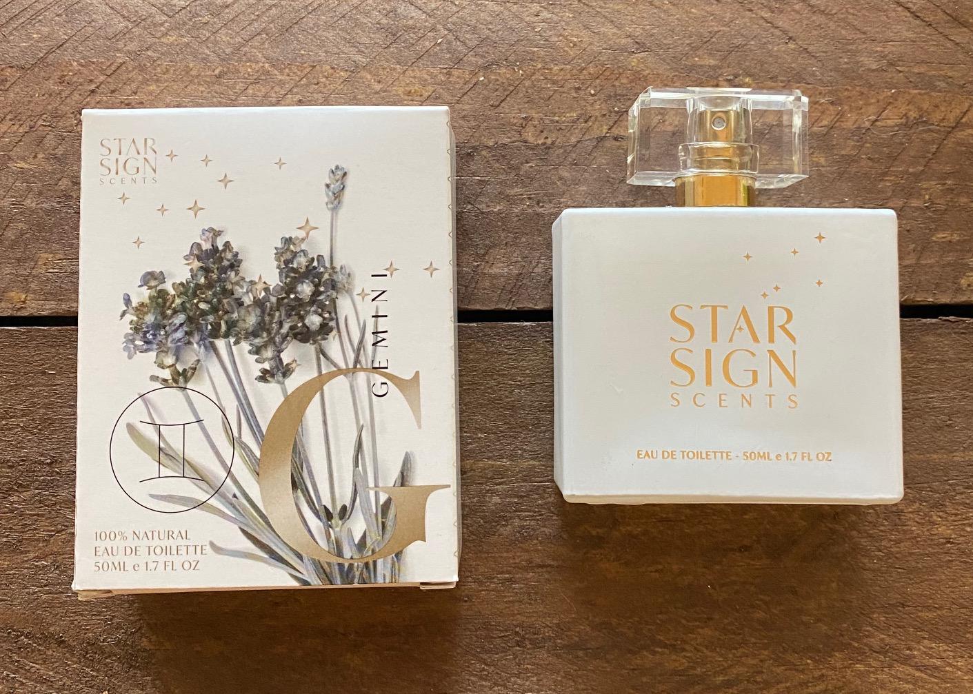 Gemini Natural Perfume